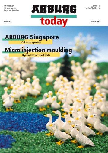 ARBURG Singapore Micro injection moulding