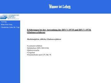 PDF-Download Teil 1 - chemisches labor dr. vogt