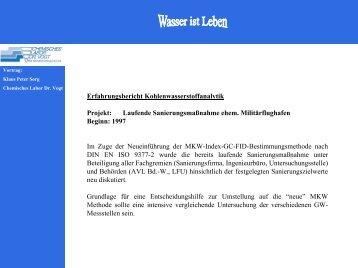 PDF-Download - chemisches labor dr. vogt