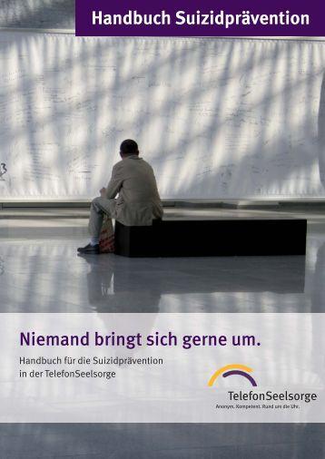 Druckdaten Handbuch Suizidprävention inkl ... - TelefonSeelsorge