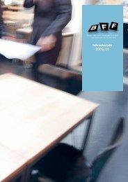 Jahresbericht 2009/10 - BFF Bern