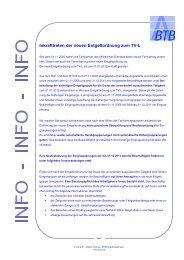 Tarifinfo 2012/08 - BTB Niedersachsen