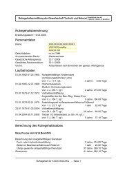 Ruhegehaltsberechnung Personendaten - BTB Niedersachsen