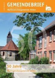 Martinskirchengemeinde Ahlten - Kirchenkreis Burgdorf