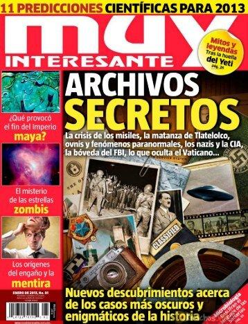 Revista Muy Interesante - enero 2013
