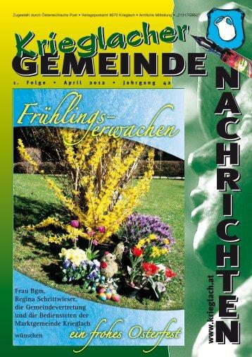 1. Folge / April 2012 - Gemeinde Krieglach
