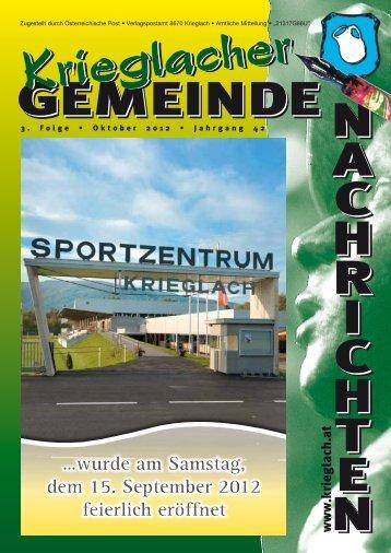Jugend/Vereine - Gemeinde Krieglach