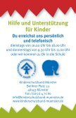Stress Ärger Sorgen Konfl ikte Sorgen Mobbing ... - Kinderschutzbund - Page 2