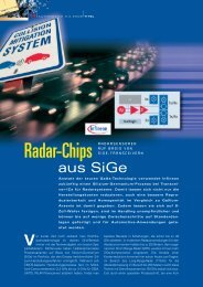 Radar-Chips - HANSER automotive