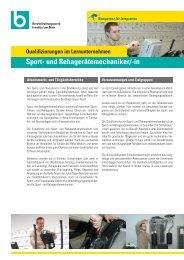 Sport- und Rehagerätemechaniker - Berufsförderungswerk Frankfurt ...