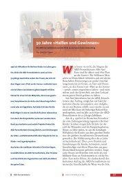 50 Jahre »Helfen und Gewinnen« - ARD