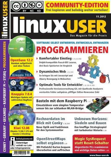 PROGRAMMIEREN - Linux User