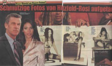 Hitzfeld mit großen Sorgenfalten: Ist Samba-Luder ... - Suzaan Talib
