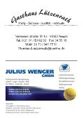 TC Weissenberg Clubzeitung - TC Weissenberg e.V. - Seite 4