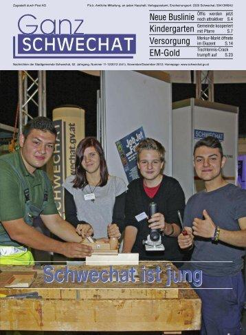 November/Dezember-Ausgabe 2012 - Stadtgemeinde Schwechat