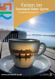 Ferien im - Tourismusverband Seenland Oder-Spree e.V.
