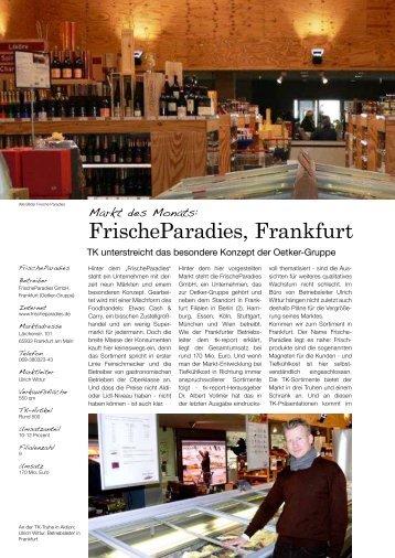 FrischeParadies, Frankfurt