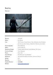 Director: AJ Annila Writer: Iiro Küttner Cast: Ville Virtanen ... - Arte