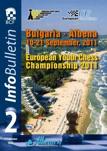 Bulgaria • Albena - European Youth Chess Championship :: 10 ...