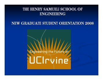 the henry samueli school of engineering new graduate student ...