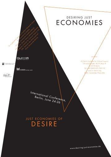 Download programme as pdf (560kB) - Desiring Just Economies ...