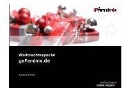 gofeminin Weihnachtspräse - Axel Springer AG