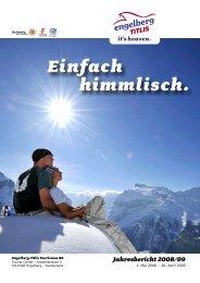 Jahresbericht 2008/09 - Engelberg