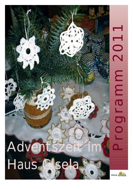 Adventszeitung 2011 - Haus Gisela