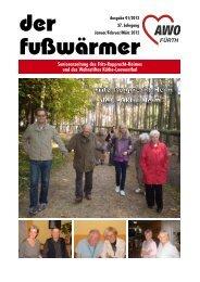 Heimzeitung Fusswärmer 01/2012 (.pdf-Dokument, 4400 kByte