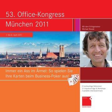 53. Office-Kongress München 2011 - OFFICE SEMINARE