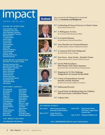 ImpactFall 2010.pdf - Wedgwood Christian Services
