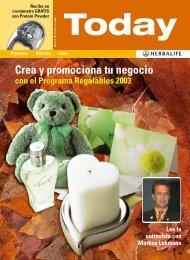 Crea y promociona tu negocio - los Productos Herbalife