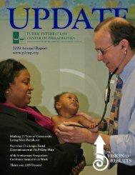 2009 Annual Report - Public Interest Law Center of Philadelphia