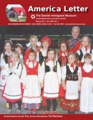 America Letter - The Danish Immigrant Museum