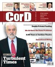 Turbulent Times - CorD magazine