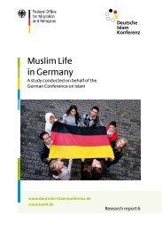 Muslim Life in Germany - Deutsche Islam Konferenz