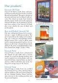ALLBÄCK WINDOWCRAFT & LINSEED OIL PAINT - Solvent Free ... - Page 3