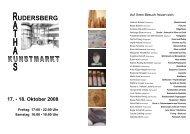 Handzettel Kunstmarkt 2008