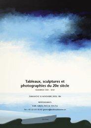 Tableaux, sculptures et photographies du 20e ... - Koller Auktionen
