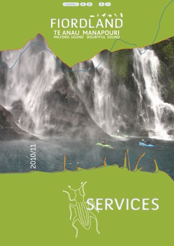 Fiordland Services - Southern Lakes