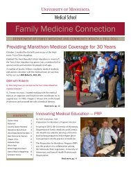 Family Medicine Connection - Family Medicine and Community ...