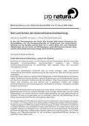 Referat Sonja Ribi - Erklärung von Bern