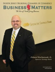 Business Matters - North Jersey Regional Chamber of Commerce