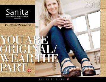 2012 SPRING / SUMMER COLLECTION - Sanita