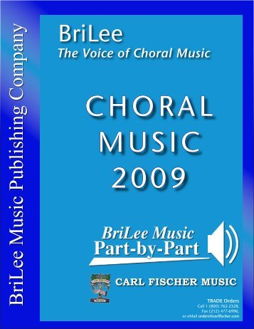 two-part chorals - BriLee Music