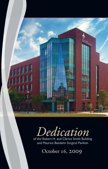 Dedication - Johns Hopkins Medical Institutions