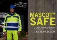 """""""MASCOT® SAFE sorgt für meine Sicherheit"""" - WORKLiNE"""