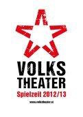 Wie schon bei der erfolgreichen Produktion - Volkstheater - Seite 3