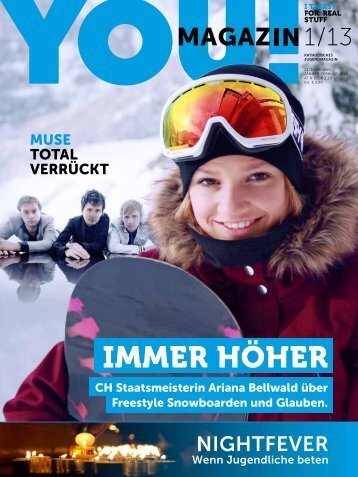 YOU Magazin Ausgabe 1-2013