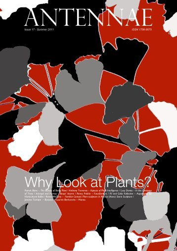 Why Look at Plants? - Antennae The Journal of Nature in Visual ...